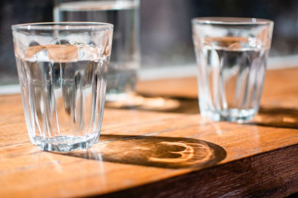 copo de agua