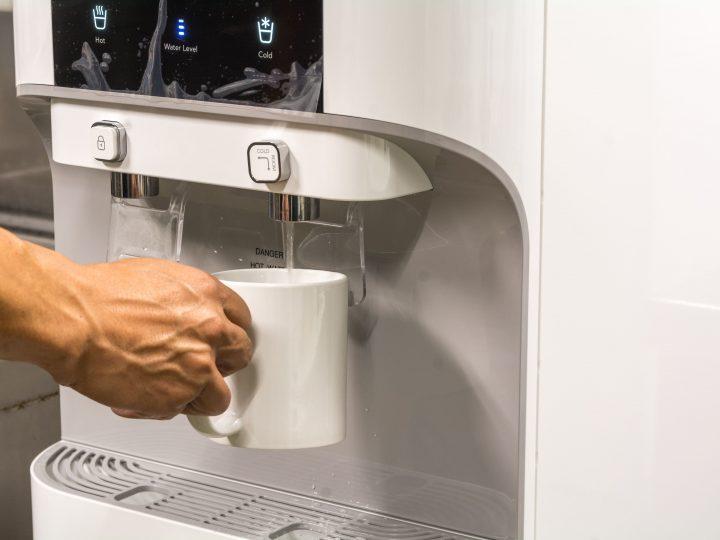 Como funciona o sistema de purificação de água?